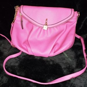 Juicy couture pink crossbody bag